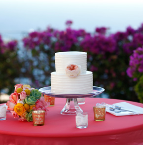 Los Cabos Destination Wedding in Cabo San Lucas, Mexico cake
