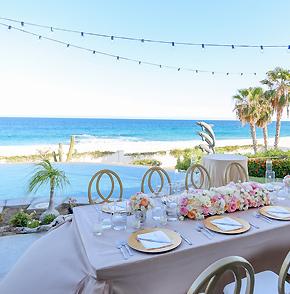 Los Cabos Mexico Destination Wedding on the beach