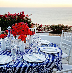 Los Cabos Destination Wedding decor in Mexico