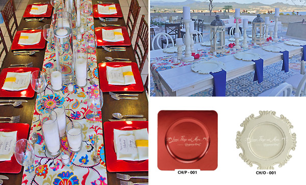 Special event destination wedding and dinner party decor in Cabo San Lucas Mexico