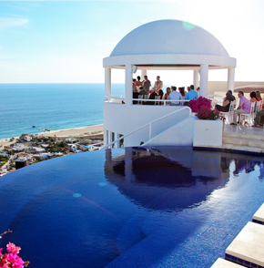 Cabo San Lucas destination wedding in a private villa rental Mexico