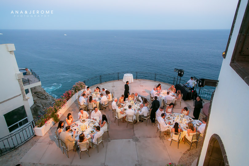 Destination Wedding In Cabo San Lucas Mexico At Private Vacation Al Villa Grande