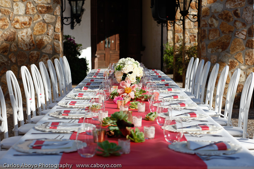 Destination Wedding in Cabo San Lucas Mexico at private villa rental