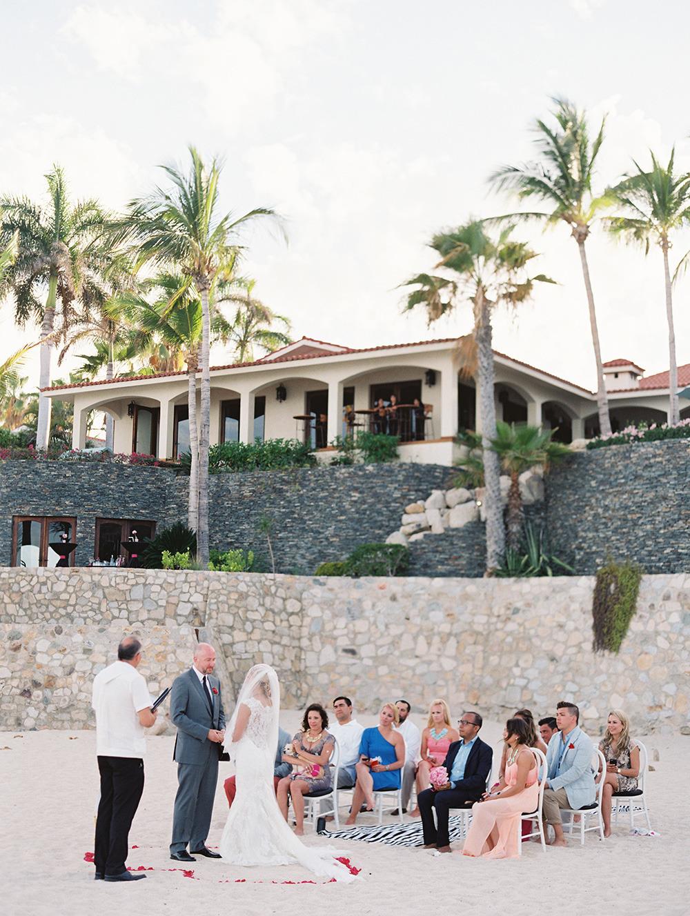 Los Cabos Mexico Destination Wedding at Beachfront Villa Captiva