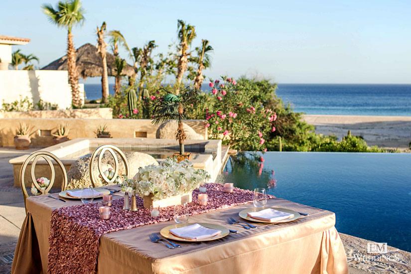 Los Cabos Mexico Destination Wedding in a Private Luxury Villa Rental