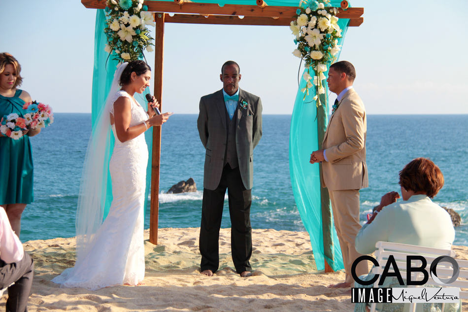 Cabo San Lucas Destination Wedding in a Private Vacation Villa Rental