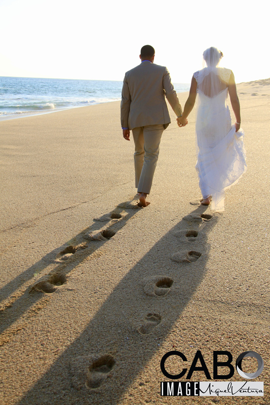 Destination Wedding in Cabo San Lucas Mexico at a private villa rental