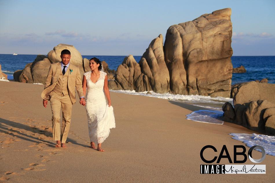 Destination Wedding in a private villa rental in Cabo San Lucas Mexico