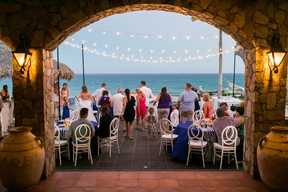 Destination wedding at private vacation rental Villa Estero in Los Cabos Mexico
