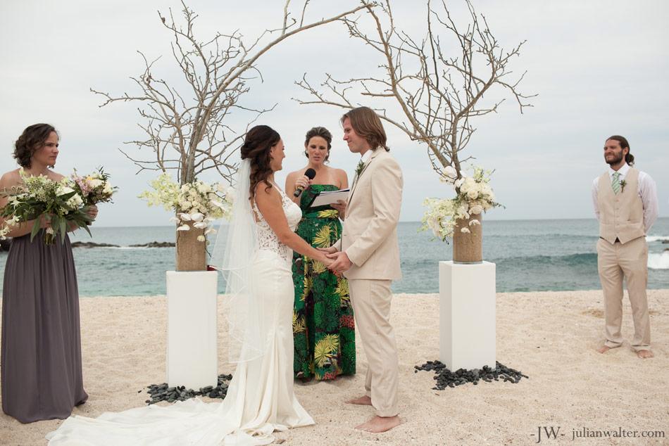 Luxury Destination Wedding in Los Cabos Mexico in a private villa rental