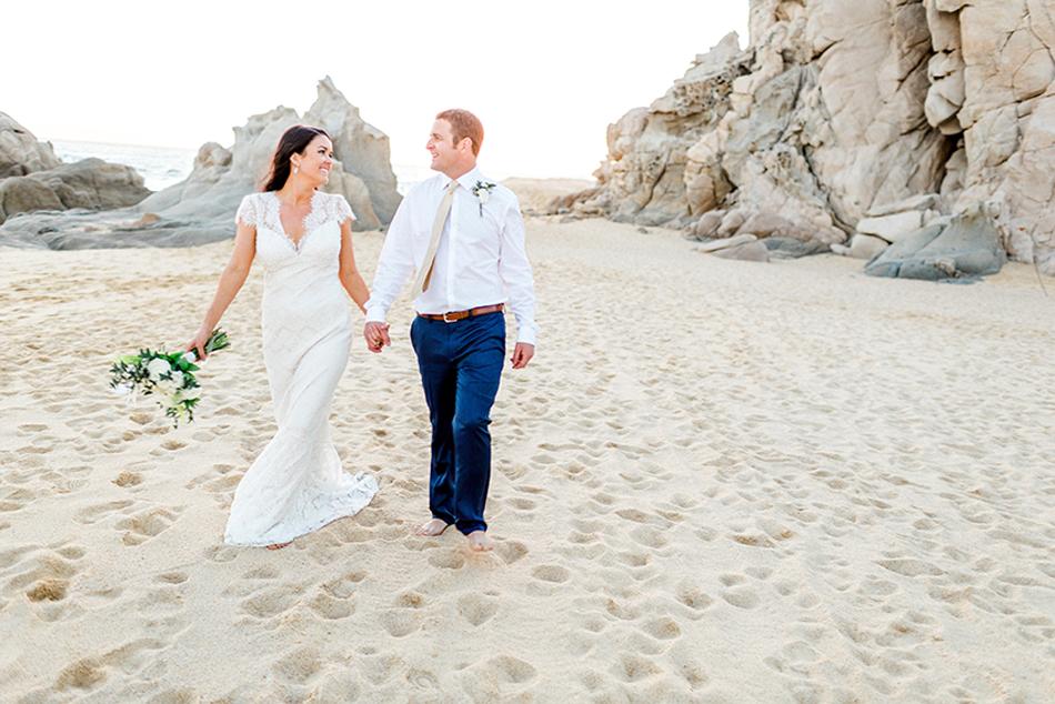 Luxury destination wedding at Villa Grande in Cabo San Lucas, Mexico