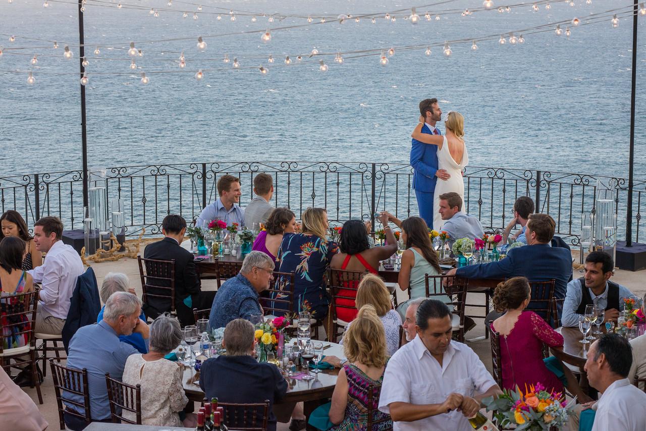 Luxury destination wedding in Cabo San Lucas at private vacation rental Villa Grande