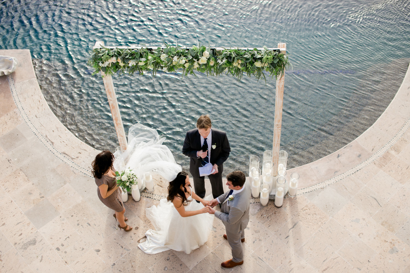 Destination wedding in Cabo San Lucas at Villa Turquesa