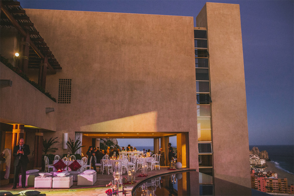 Luxury destination wedding in Cabo San Lucas Mexico at private vacation rental Villa Bellissima
