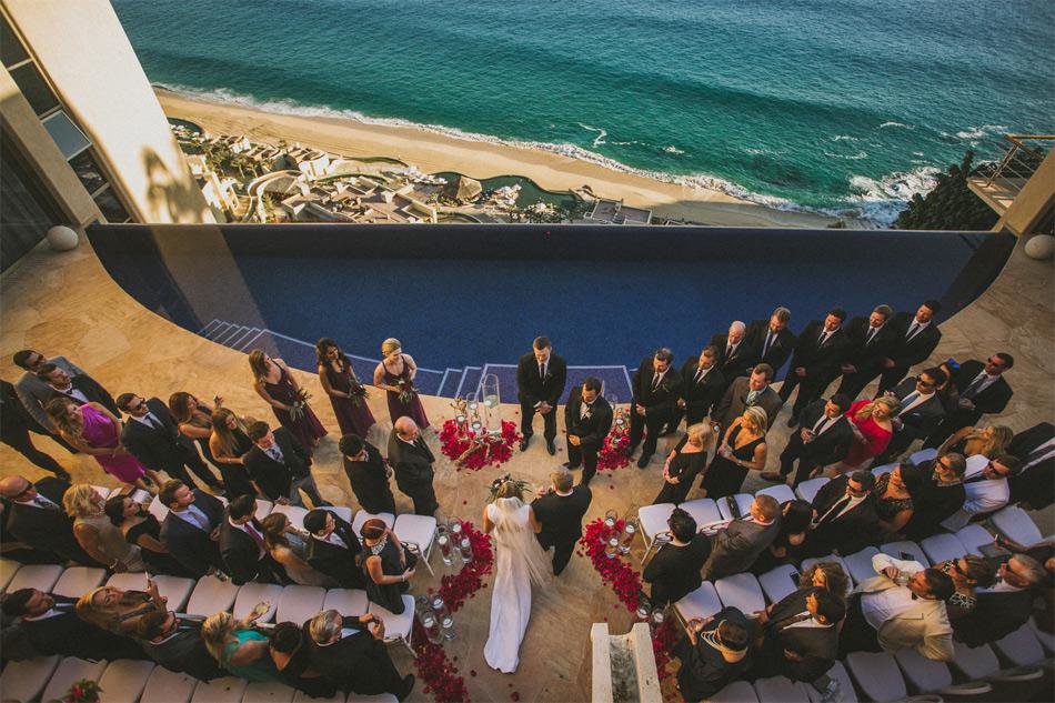 Los Cabos Mexico destination wedding at private vacation rental Villa Bellissima