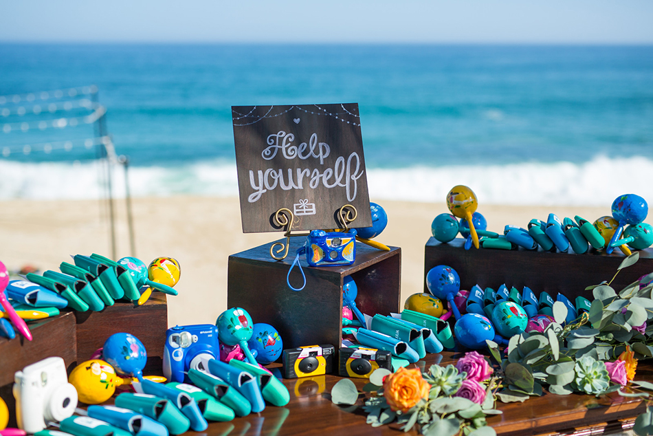 Beachfront Destination Wedding at private vacation rental Villa Amanecer in Los Cabos, Mexico
