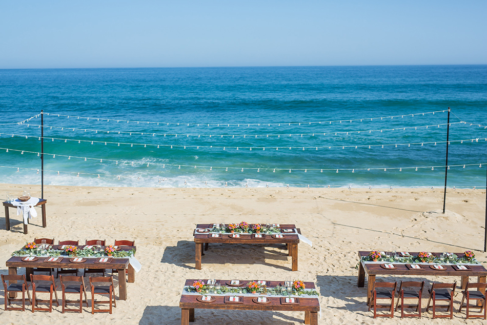 Luxury Destination Wedding at private Los Cabos vacation rental Villa Amanecer