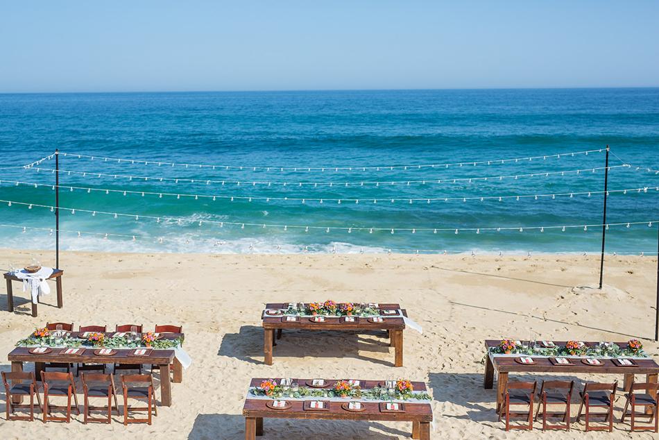 Luxury Destination Wedding at private Los Cabos vacation rental Villa Amanecer