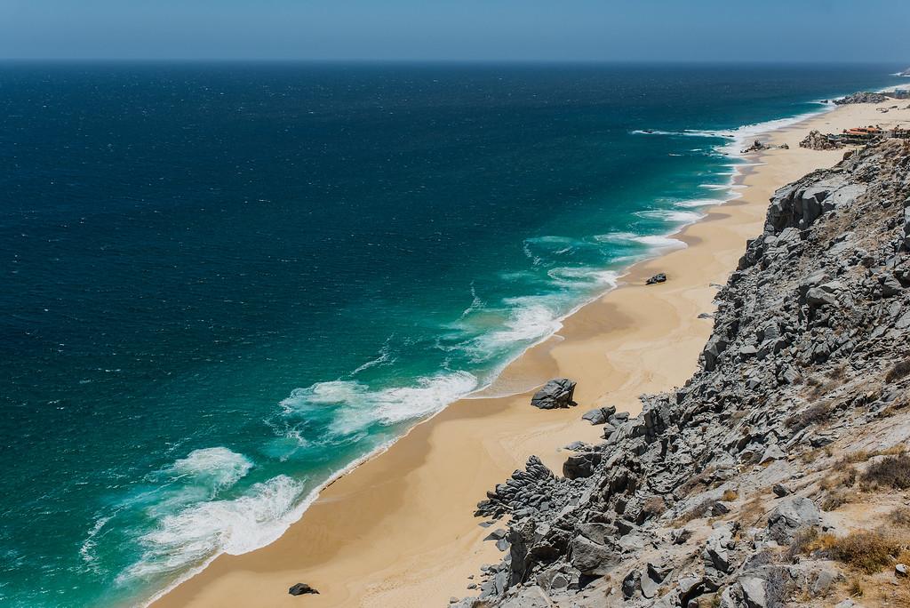 The view from Villa Grande in Cabo San Lucas, Mexico