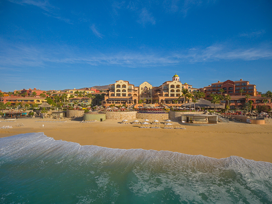 The breathtaking beachfront Sheraton Grand Los Cabos, Hacienda del Mar Resort is a stunning venue for a destination wedding in Cabo San Lucas, Mexico