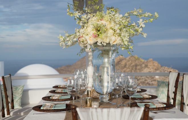 Cabo San Lucas, Mexico Luxury Destination Wedding at private vacation rental Villa Clara Vista