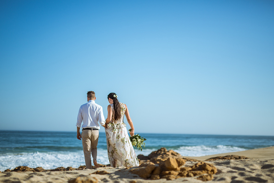A Beachfront Wedding With Nature Inspired Romance
