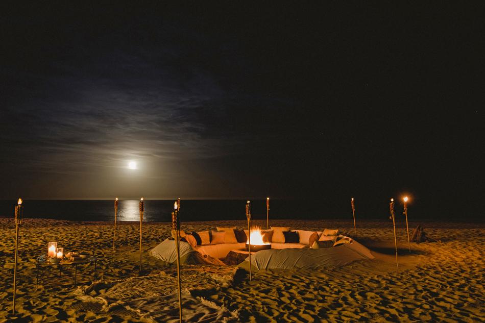 Luxury Destination Wedding on the Beach in Los Cabos Mexico at private Vacation Rental Villa las Rocas