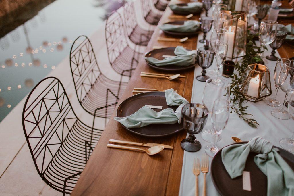 Luxury beachfront destination wedding in a private villa rental at Villa Marcella in Cabo San Lucas Mexico