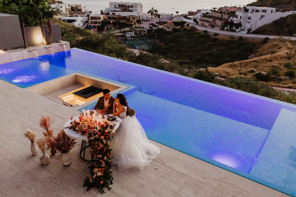 Destination luxury wedding in Cabo San Lucas Mexico